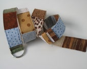 Funky Fall Fabric Belt. Patchwork, Adjustable Size