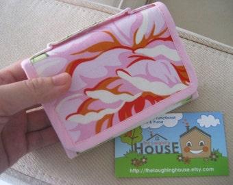 Mini Accordian Purse (Hello Roses in Cream)