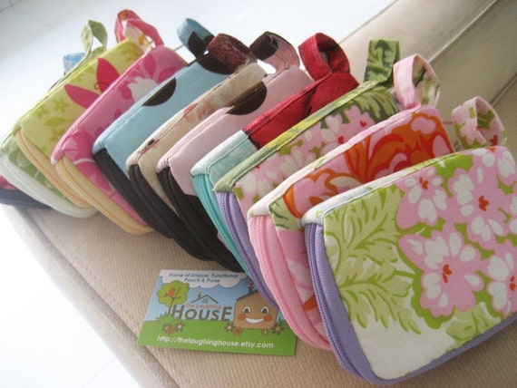 iPhone Case/Mini Purse (Your Choice of Fabric) Reserved for Federica
