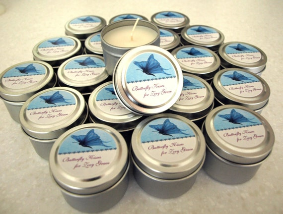 Favor Gift Soy Travel Candles