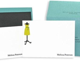 Fashionista Stationery Box of 10