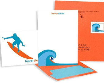 Camp Stationery for the Surfer