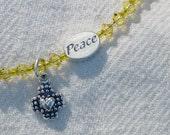 Peace Bracelet to benefit Lutheran Peace Fellowship