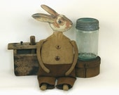 Horatio Hopkins - A Primitive Rabbit Doll - Made to Order