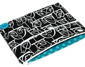 CLEARANCE iPad Case Black and White Bird Swing