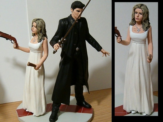 Your Favorite Characters Wedding Cake Topper - Personalized - You Design It