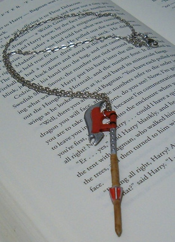 RESERVED for KaleidoscopicRainbow - Scythe Necklace - Buffy the Vampire Slayer
