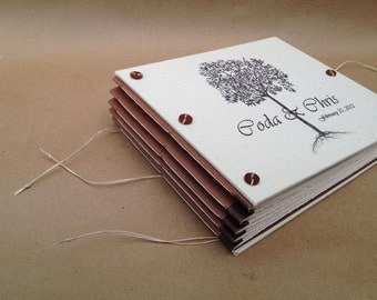 Tree Wedding Guest Book or Photo Album - Personalized for You - Custom Made