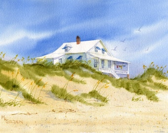 Sunwashed Pawley's Island Beach Cottage