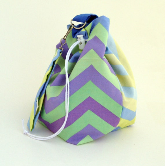Everything-But-the-Knitting Sock Bag