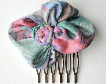 Bouquet hair comb, limited edition 'light air' collection