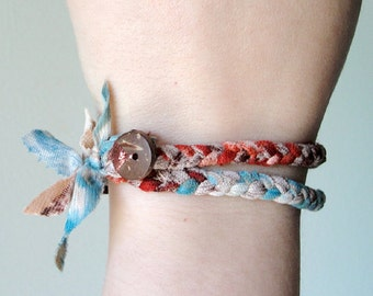 Wrap bracelet / headband, limited edition Sienna collection
