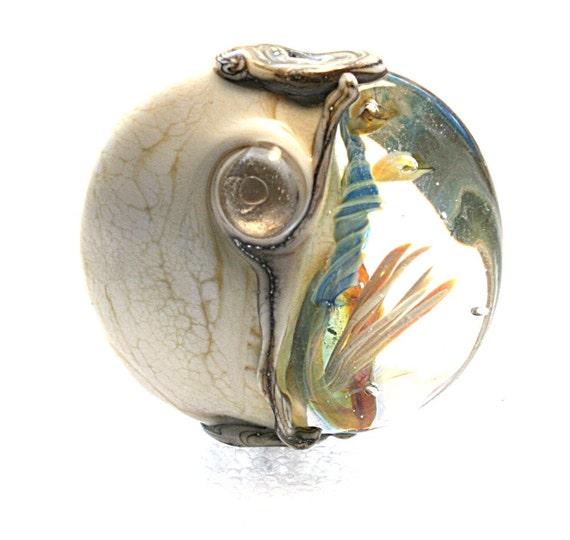 Lampwork Art Focal Bead by Jeanniesbeads 1504