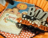 Spooky Sparkly Halloween Banner - PDF Instruction Sheet