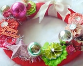 Kitschy Christmas Wreath - PROJECT KIT