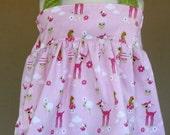Pink Deer Halter Top