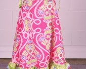 Hot Pink and Lime Dress