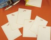 10 Boxed Notes TAKE FLIGHT Aviation Notes Vintage Travel Airplane set