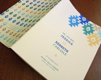 Cathena Wedding Guest Book