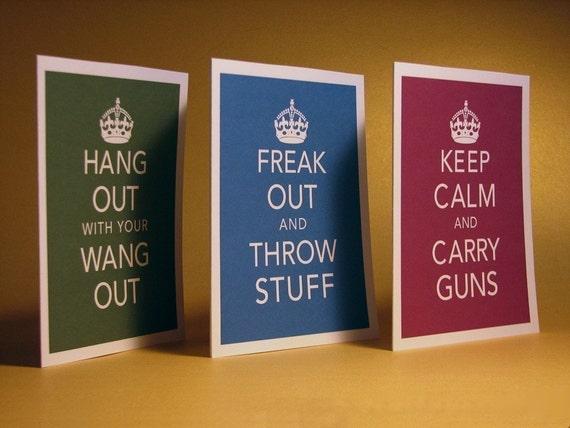 Keep Calm Parody Set