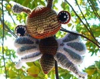 Fluttering Butterfly Crochet Pattern PDF