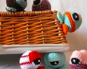 Amigurumi Monsters: Sy Clops Crochet Pattern PDF