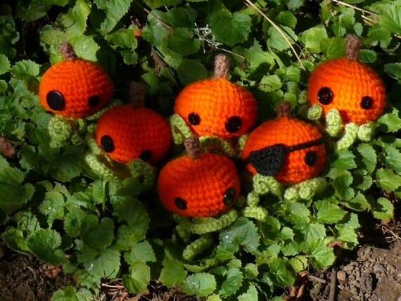 Octo-Pumpkin  Crochet pattern PDF