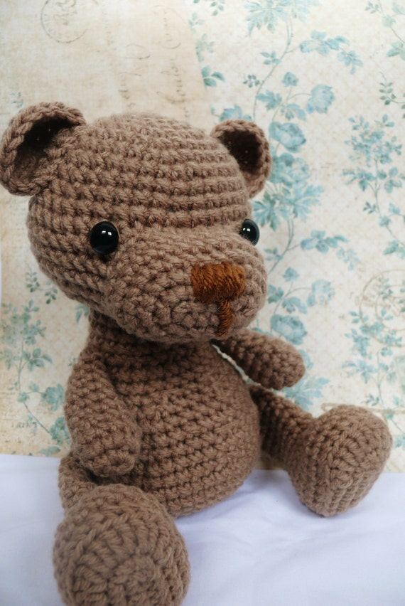 Teddy Bear Knitting Patterns Free Download : Teddy Bear crochet pattern PDF