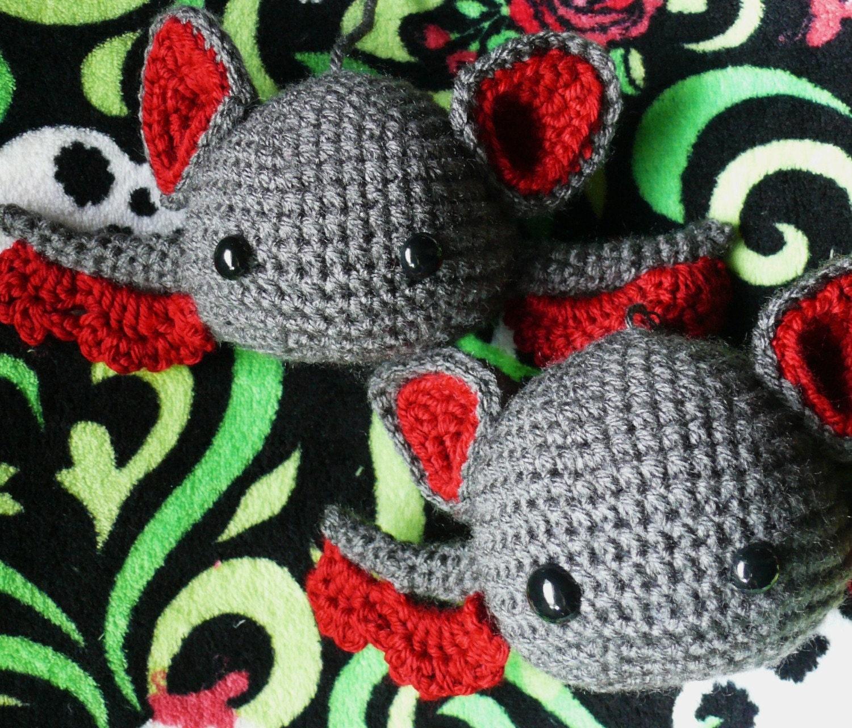 Make Amigurumi Bat Crochet : Baby Amigurumi Bat Crochet Pattern PDF