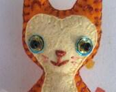 Mewberry Cutes Brooch - Gingerbread