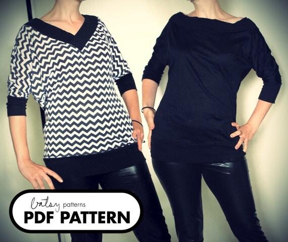 Park Top - PDF Pattern