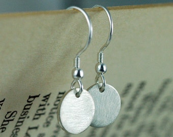 Silver Earrings - Simple Earrings - Modern Earrings - Everyday Earrings - Geometric Earrings - Minimalist Jewelry - EcoFriendly Silver E3005