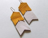 no. 281 - leather earrings