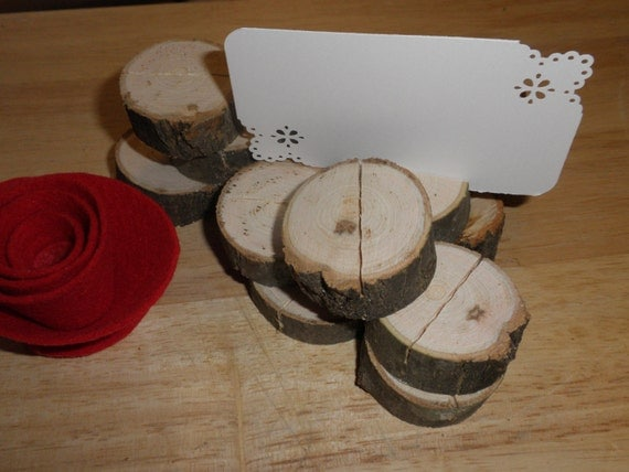50 Tree Branch Place Card Holders