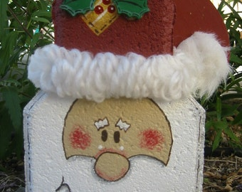 Yard Art, Garden Decor, Garden Decoration, Outdoor Decor, Santa Claus Patio Person