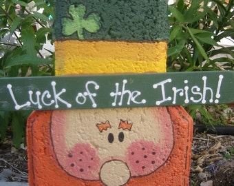 Lucky Leprechaun Patio Person Garden Art Outdoor Decoration Garden Decor