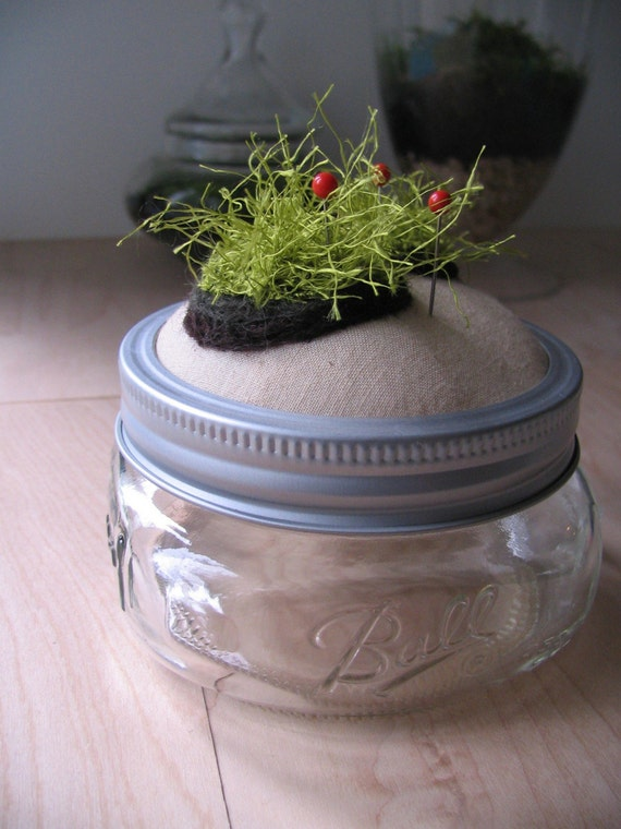 Moss Jar 7 (reserved for blissinateacup)