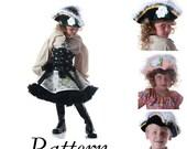 Ebook Pattern Crochet Pirate Buccaneer Hat