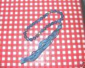27 bead 8mm round Lapis Lazuli mala
