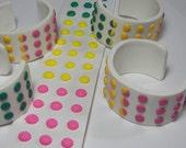 Cuff Bracelet Candy Button Candy Cuff Bracelet Polymer Clay