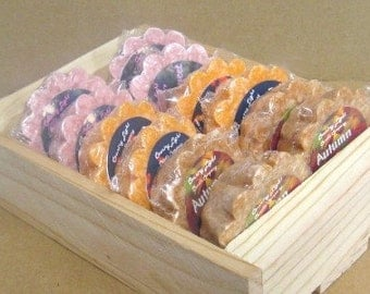 Crate of 12 Heavily Scented NO-STICK Wax Tarts