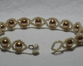 String of Pearls Bracelet - Gold