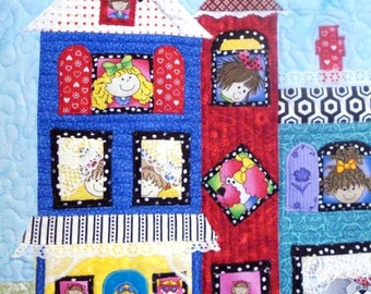 The Merry Manor Quilted Wall Hanging