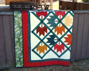 Maple Leaf Quilt Double