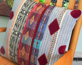 Pillow Cover In Southwestern Motif