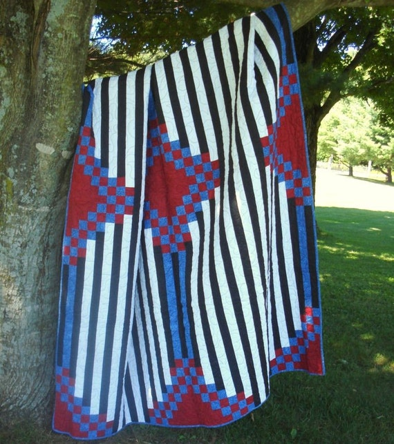 Twin Quilt In  a Native American Design