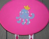 Clippie Holder. Pink Octopus
