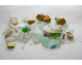 Sea Glass, Shells and Ceramic  Collection 1