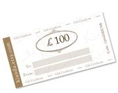 GIFT CERTIFICATE - 100 pounds gift voucher to spend at KIANDA