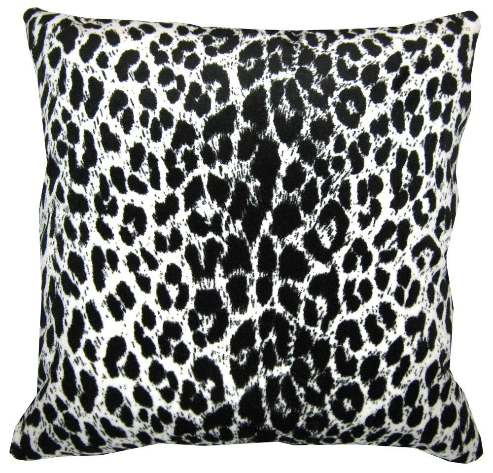 Items similar to Decorative Pillow Cover- Animal Print Fabric on Etsy